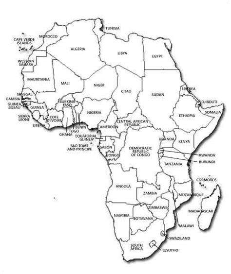 africa map practice africa map quiz map travel holidaymapq