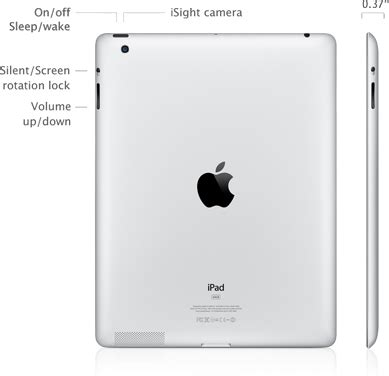 Manual Centre Apple New Ipad 3 Specifications Amp Manual