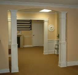 Poplar Wainscoting Square Columns Interior Columns Elite Trimworks