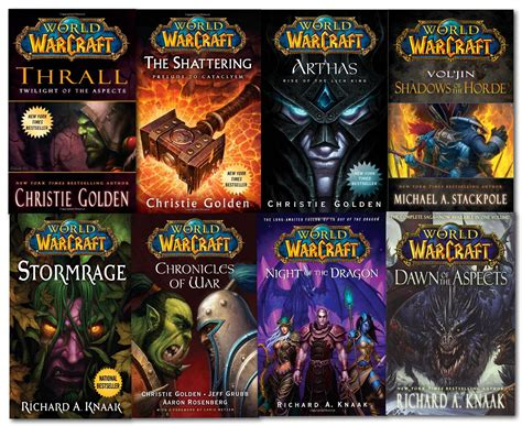 world of warcraft series collection 8 book set chronicles