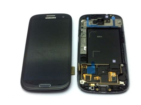 Lcd Dan Touchscreen Samsung S3 Mini Display F 252 R Samsung Galaxy S3 I9300 Touchscreen Lcd Rahmen In Schwarz