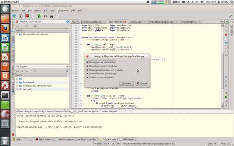 tutorial python in ubuntu install codimension open source python ide via ppa in
