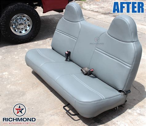 f250 bench seat replacement 1999 2001 ford f 250 xl vinyl bottom bench seat cover