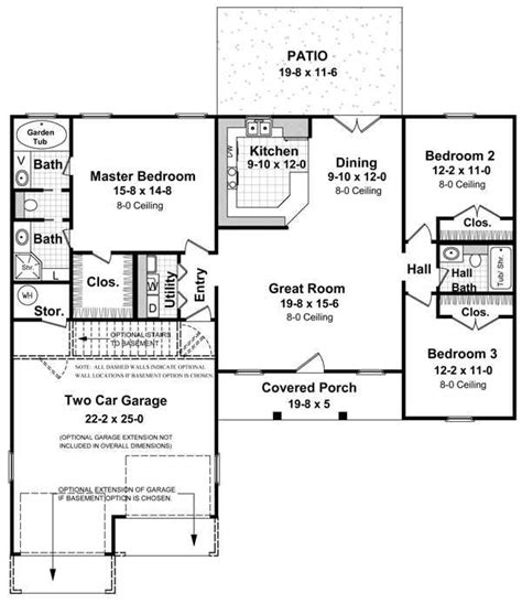 daylight basement floor plans 17 best images about blueprints on house plans