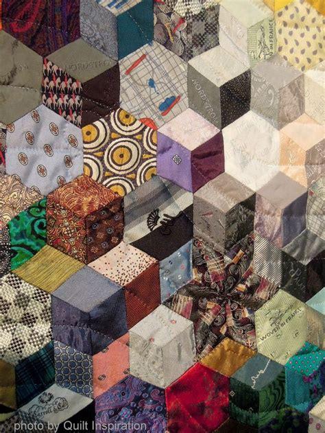 Necktie Quilt Block by 182 Best Images About Tumbling Blocks Quilts On Tumbling Blocks Baby Blocks And Quilt