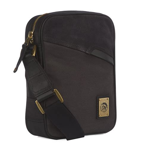 Diesel Bag by Diesel Crossbody Messenger Bag In Black For Gold Lyst