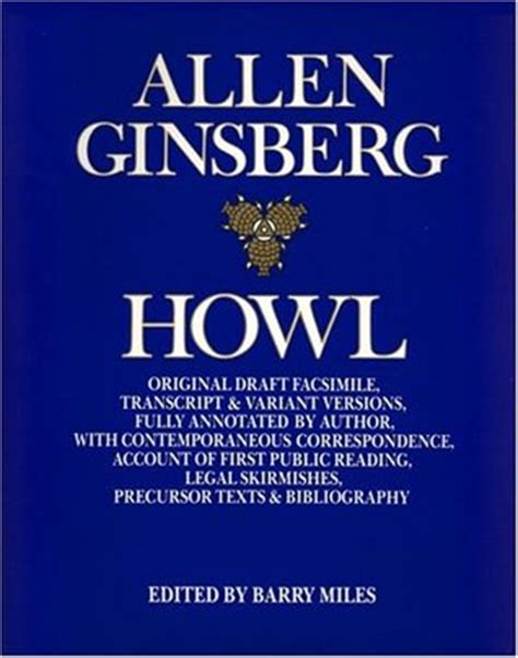 howl for it books howl original draft facsimile by allen ginsberg reviews