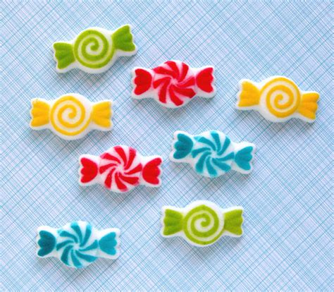 Sugar Decorations by Edible Sugar Decorations For Cupcake And By Sweetestelle