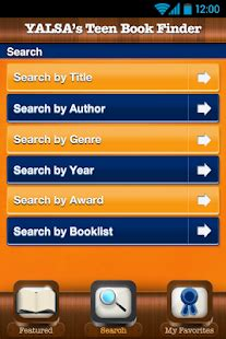 yalsa's teen book finder android apps on google play