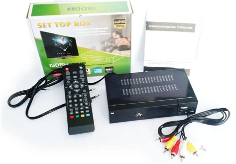 Set Of Box Tv Digital conversor digital de tv set top box hd c gravador r 80 00 em mercado livre