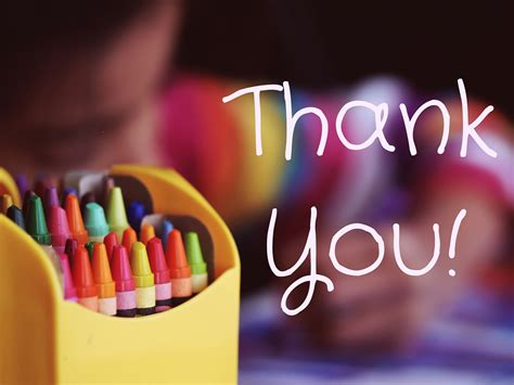 Creative You help say thank you with 3 ideas for creative thank