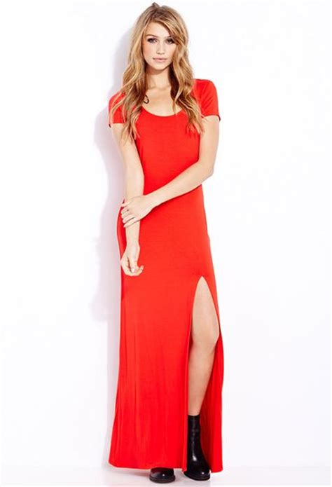 Dress Basic Maxi forever 21 basic maxi dress in lyst