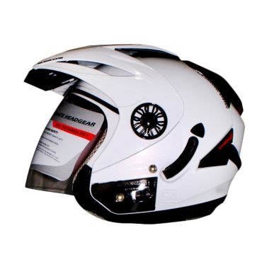 Helm Orca Jual Orca Spider Solid White Helm Half Harga