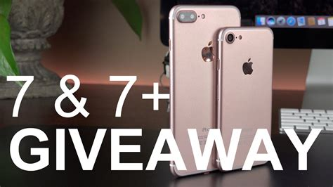 Apple Giveaway Iphone 7 - apple iphone 7 7 plus giveaway youtube