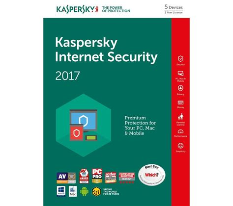 Anti Virus Kaspersky Security 5 Devices 1 Tahun Murah kaspersky security 2017 5 devices for 1 year deals pc world