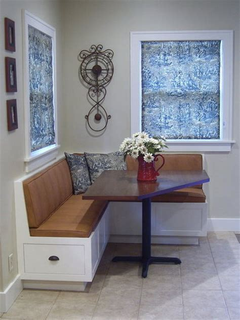 Dining Banquette With Storage by