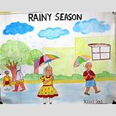 Pin Rainy Season Drawing For Kids on Pinterest