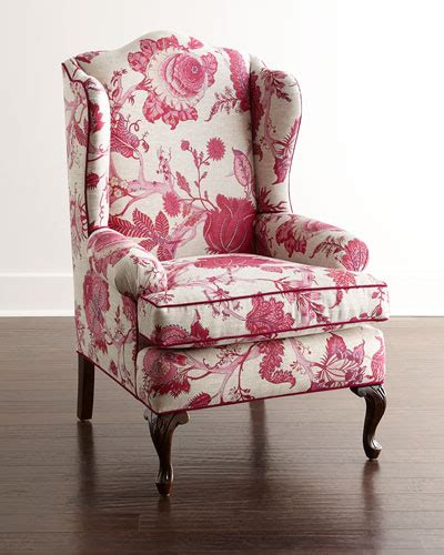 wing chair dining table haute house priscilla wing chair bissett side chairs