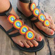 maasai sandals designs handmade africans and sandals on