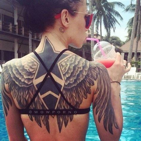 collection of 25 back wings collection of 25 wings tattoos on back for