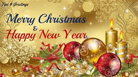 merry christmas happy  year  whatsapp greeting video hd youtube