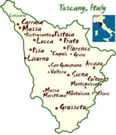 Map Of Tuscany Italy by Where Should You Go In Tuscany Check The Map Tuscany