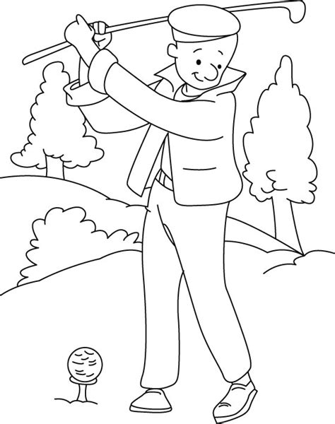 minion golfer coloring page minion golf picture coloring pages