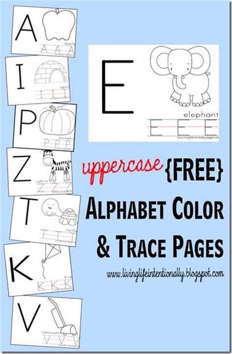 printable alphabet tracing chart 17 best images about alphabet review on pinterest abc