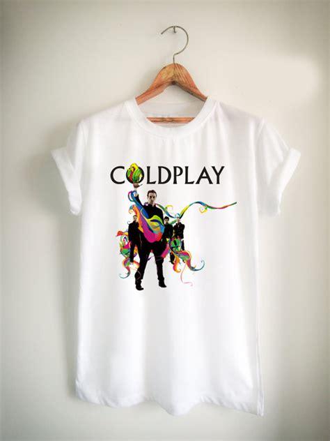 Kaos T Shirt Band Coldplay coldplay rock band unisex tshirt