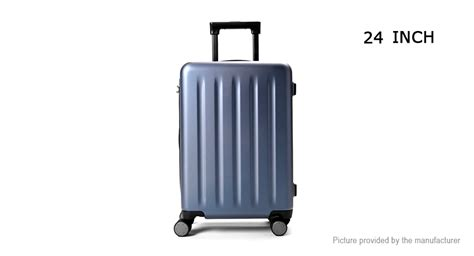 Xiaomi Mi Trolley 90 Points Suitcase 20inch White 64 40 authentic xiaomi mi trolley 90 points suitcase 24 quot 64l large capacity telescoping