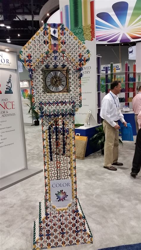 Knex Grandfather Clock by Knex Clock
