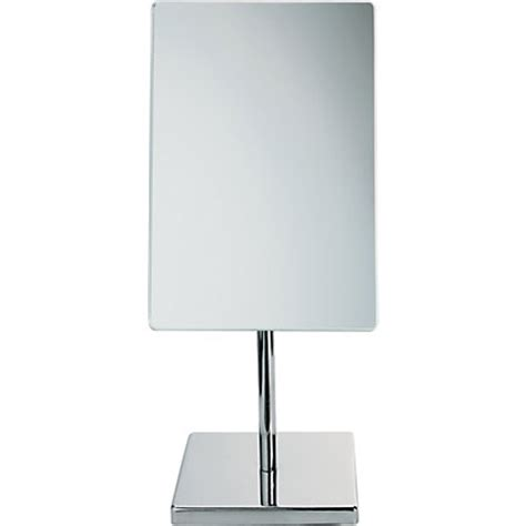 large free standing bathroom mirror free standing chrome modern pedestal cosmetic shaving