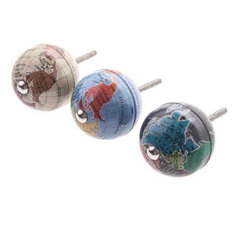 Draw Knobs sass tin globe decorative drawer knobs sass