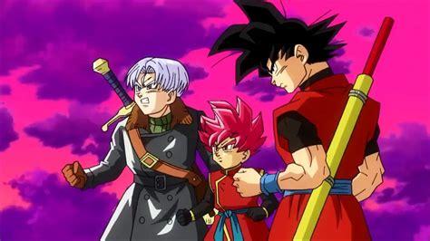anime dragon ball heroes trailer dragon ball heroes nuevo tr 225 iler anime con black goku