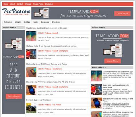 blogger templates for ebooks seo fast loading responsive tri vusion blogger template