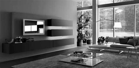 black and grey living room decor modern house