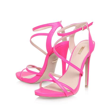carvela kurt geiger high heel strappy sandals in