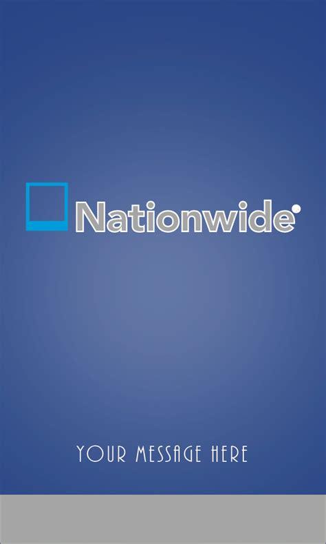 Nationwide Insurance Vertical Blue Business Card Design 206051 Nationwide Insurance Card Template