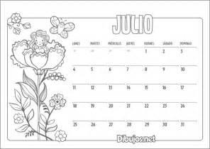 Calendario Y Sus Dibujos Calendario Infantil 2016 Colorear Julio Coaching