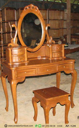meja rias kartini kayu jati jepara klasik model terbaru harga murah furniture jepara klasik