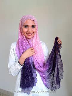 Pashmina Instanpastanpastan Satu Muka tutorial cara pakai shawl shawl eksklusif scaniaz
