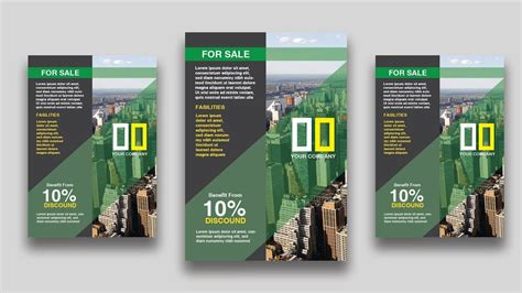easy flyer design tutorial adobe illustrator youtube adobe illustrator cc 2018 flyer poster leaflet design