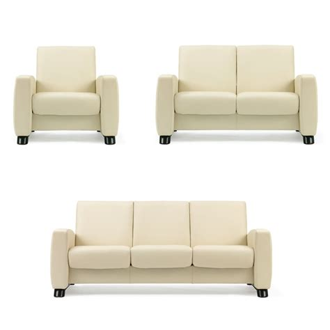 low back sectional sofa stressless arion low back sofa