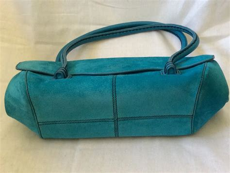 Outfitters Turquoise Suede Bag by Tod S Turquoise Suede Bag Archetypes Ruby