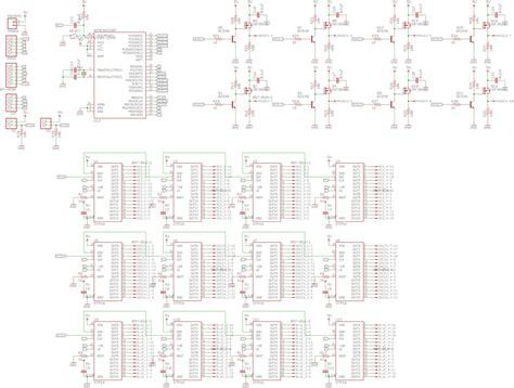8x8x8 rgb led cube schematic wiring diagrams wiring