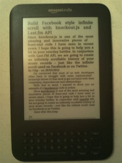 html format for kindle generate kindle mobi ebooks with your asp net web api