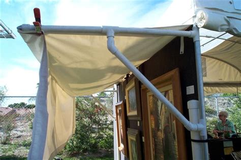 Diy Outdoor Awning by Diy Awning Outdoor Decorating
