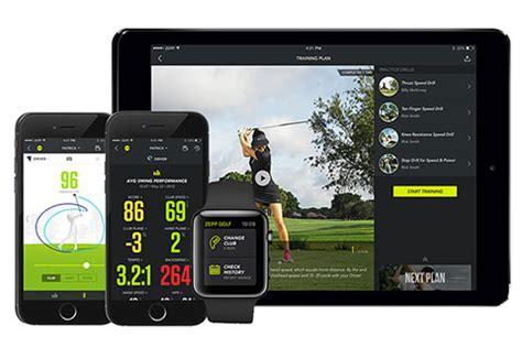 zepp golfsense 3d golf swing analyzer zepp golf 2 3d swing analyzer sharper image