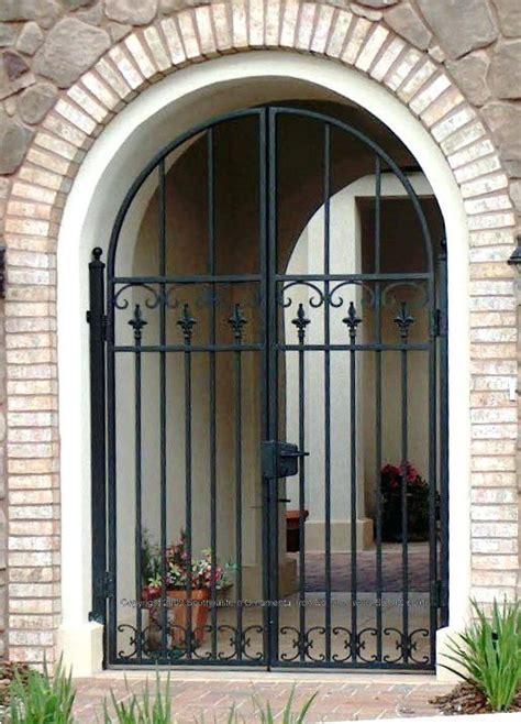 front door security gates custom house gate front door