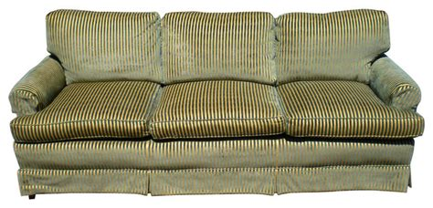 green striped sofa emerald green striped sofa contemporary sofas by one